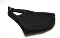 Многоразовая трехслойная маска (Черная)